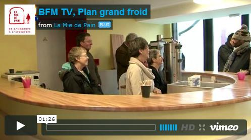 BFM TV Plan grand froid