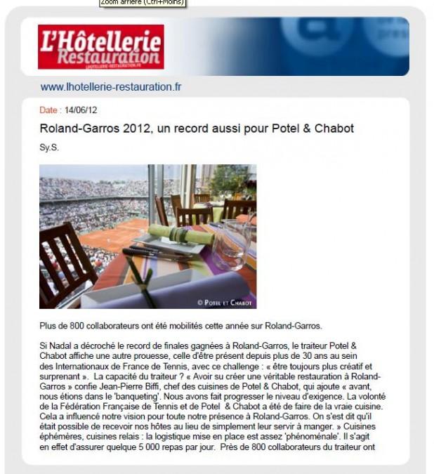Aperçu Hôtellerie-Restauration