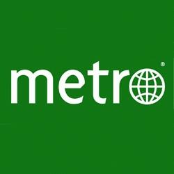 Logo du journal Métro