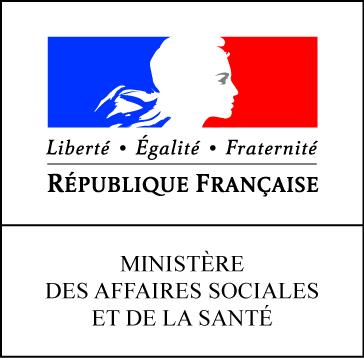 Logo du Ministère des Affaires sociales et de la Santé