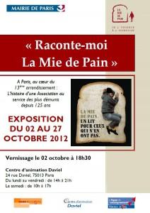 Affiche Exposition La Mie de Pain