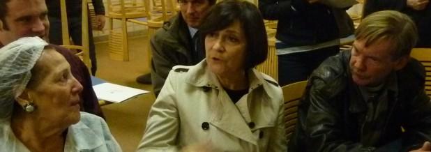 Marie-Arlette Carlotti visite Le Refuge