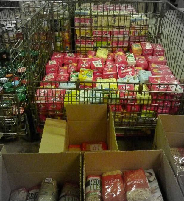 Collecte Banque Alimentaire 2012