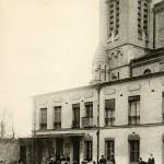 La cour du patronage de la rue Bobillot
