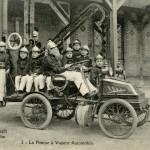 La troupe des pompiers « Liliput » du patronage