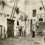 La salle de gymnastique, rue Charles Fourier