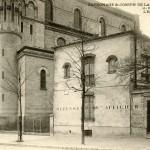 Aile gauche et entrée du patronage Saint-Joseph, rue Bobillot