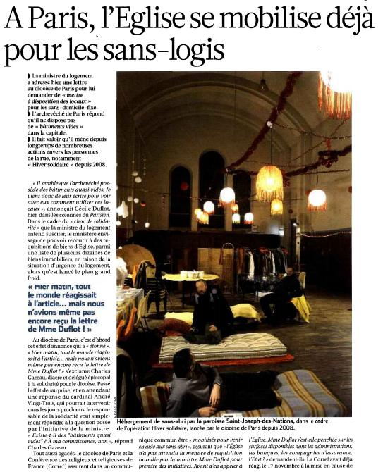 Aperçu La Croix 04 décembre 2012