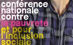 Affiche Conférence nationale contre la pauvreté 2012