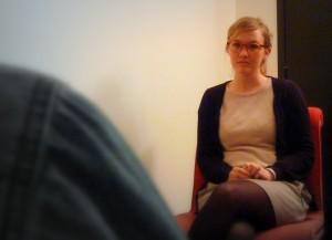 Amaya, psychologue à La Mie de Pain