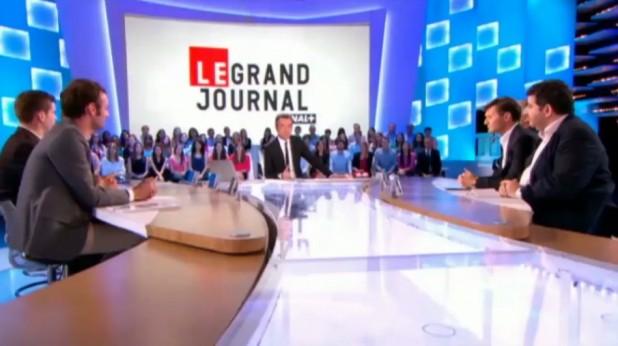 La cravate solidaire, Canal+