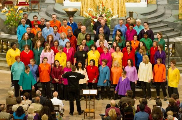 La chorale Arlequins Gospel