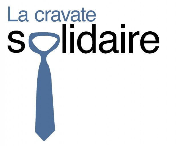 La cravate solidaire - LOGO