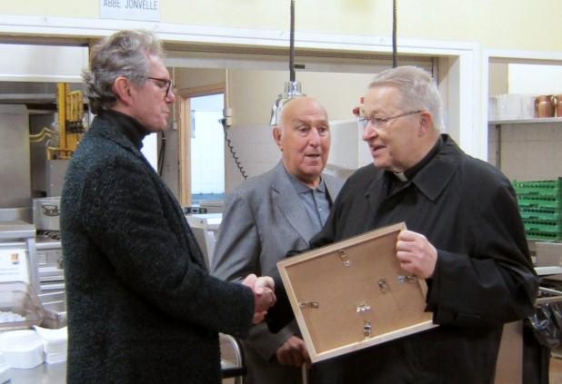 Cardinal André 23 en visite au Refuge