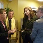 Nathalie Kosciusko-Morizet rencontre l'Arche d'Avenirs