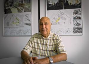 Jean Laffon, président d'honneur de La Mie de Pain