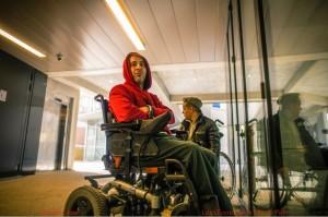 Accueil de personnes à mobilité réduite