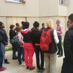 Visite lycéens Edmond Rostand